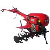 Media Line Motocultor MS 100 DCFE , motor diesel, 10 CP, latime de lucru 120 cm, pornire electrica